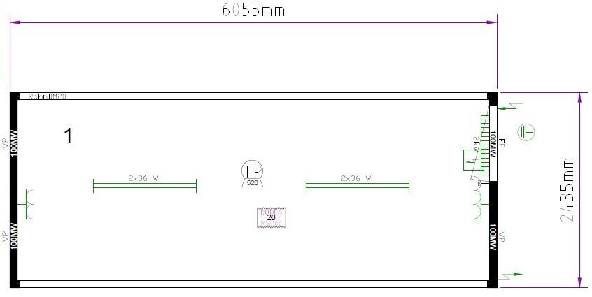 Планировка CONTAINEX 9352652-018