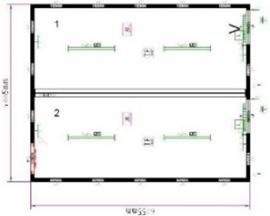 Планировка CONTAINEX 9357075-006-RU