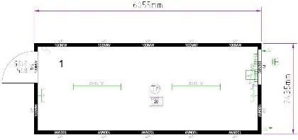 Планировка CONTAINEX T320DED325235-9002