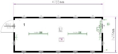 Планировка CONTAINEX T320DED325254-9002-001