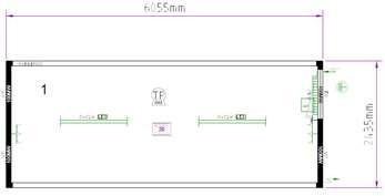 Планировка CONTAINEX T320DED326254-9002-001