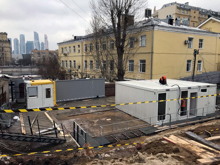Монтаж Москва CONTAINEX