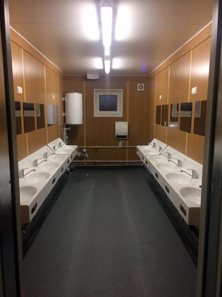 Туалет Новый Уренгой CONTAINEX