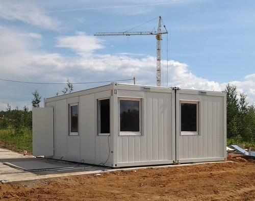 Модульные здания из CONTAINEX
