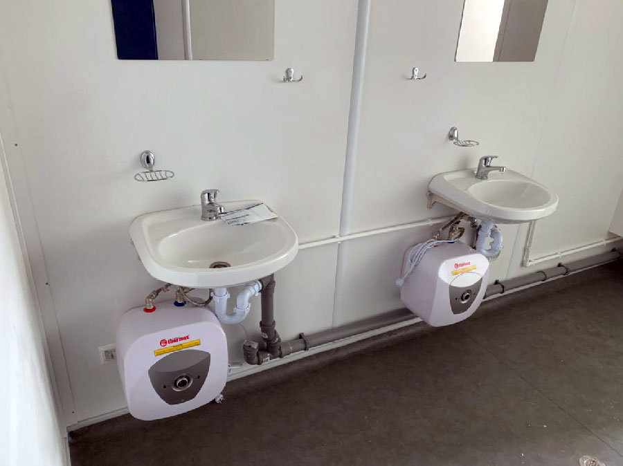 Туалет штаб из CONTAINEX