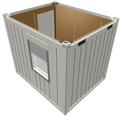10-футовый блок-контейнер CONTAINEX (TP10)