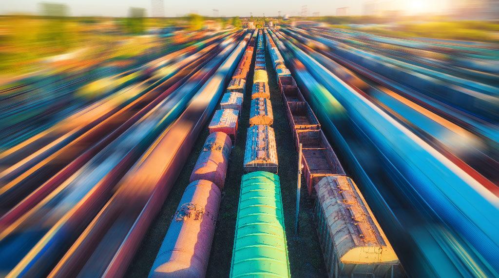 Доставка железнодорожным транспортом CONTAINEX