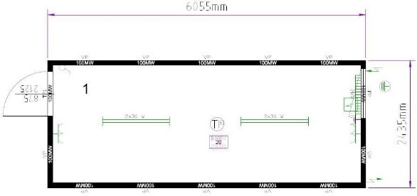 Планировка CONTAINEX T320DED325235-5010-001